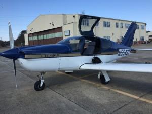 My flight school's 1992 Socata Trinidad TB20.